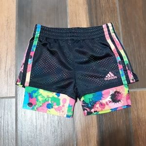 Girls 2T Adidas shorts